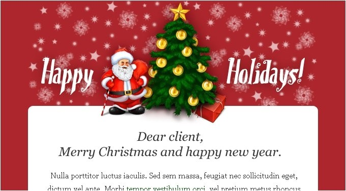 Business Email Christmas Card Template Business Action Plan Template Business