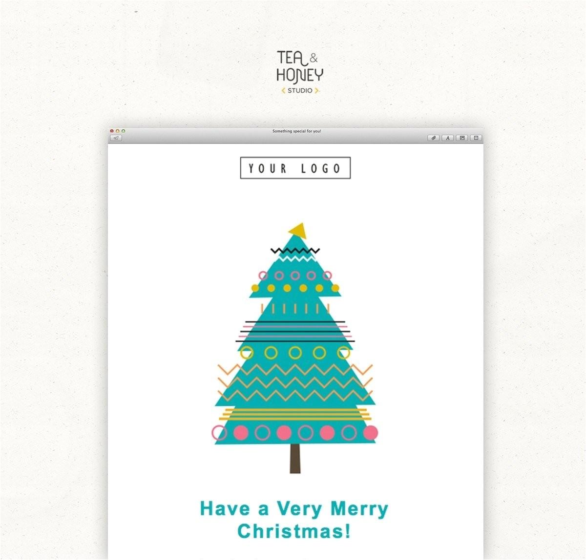 html christmas card template
