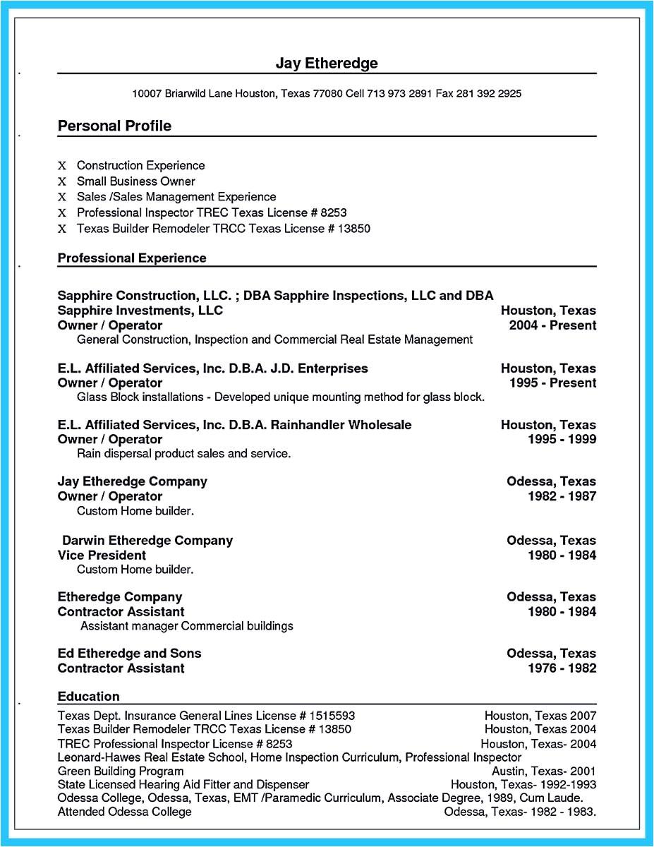 Business Owner Resume Sample Outstanding Keys to Make Most attractive Business Owner Resume