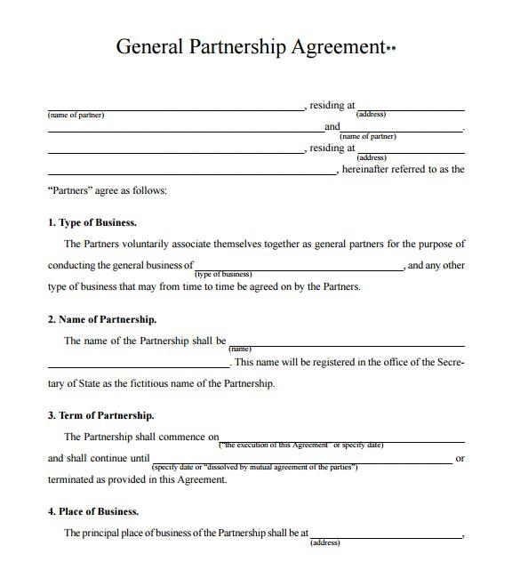 Business Partnership Proposal Template Free 15 Sample Partnership Proposals Sample Templates