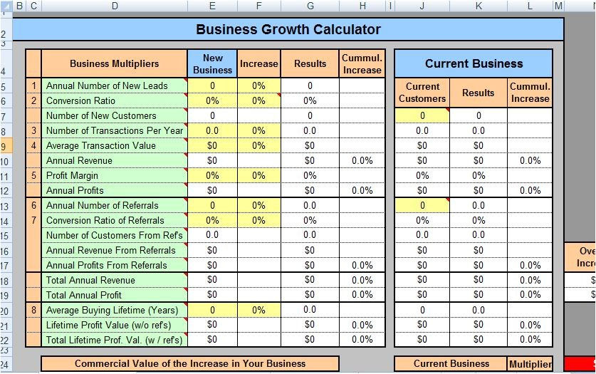 ms word and excel business plan templates