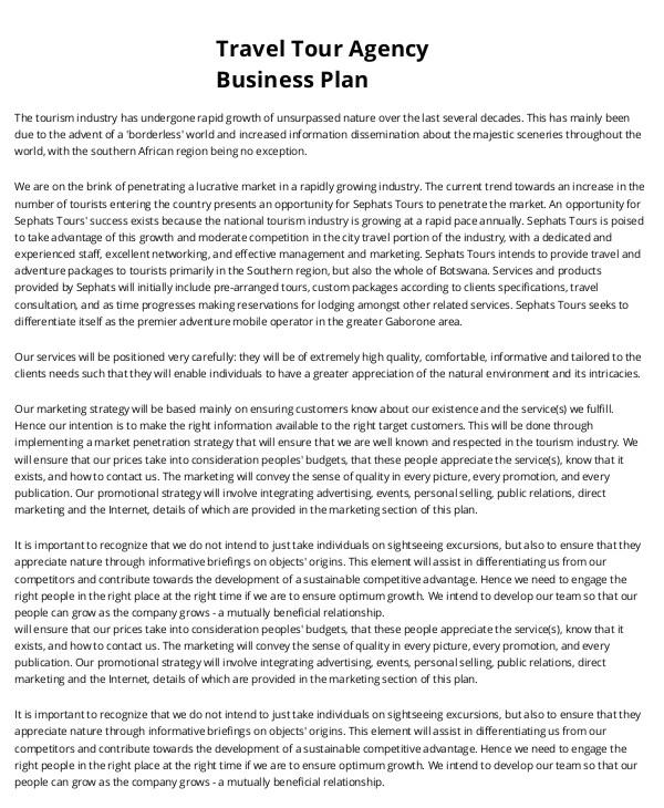 printable business plan