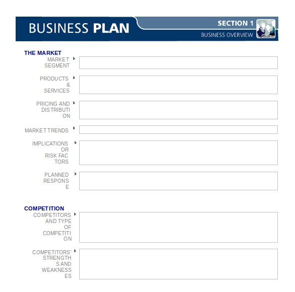 Business Plan Template Word Free Download Business Plan Templates 43 Examples In Word Free