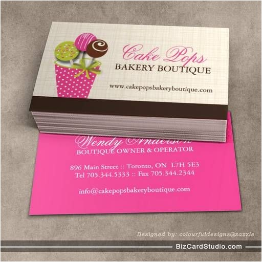cake business card template 10 best bussines cards images on pinterest bakery logo design free