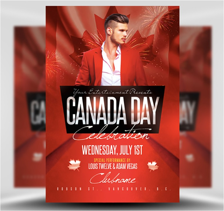 canada day flyer template v2