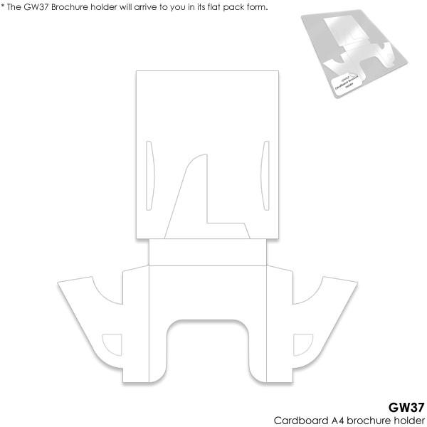 brochure holders cardboard