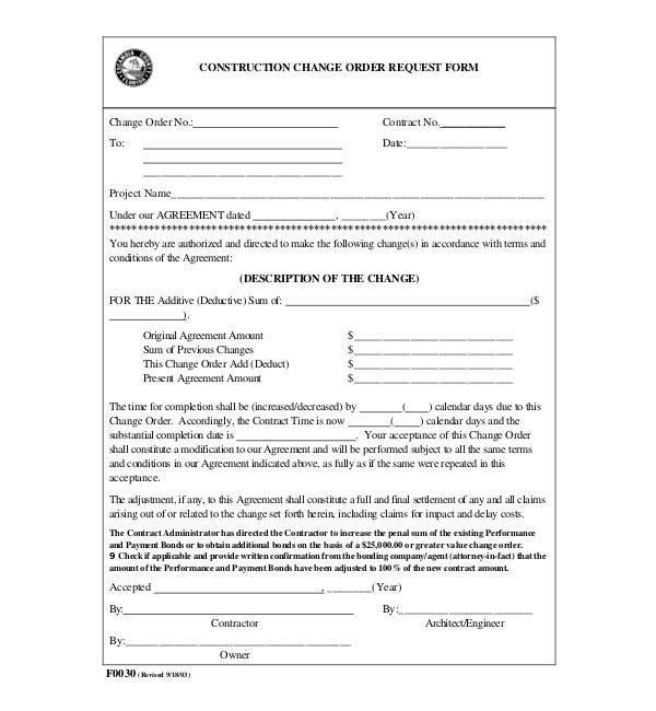contractors proposal template