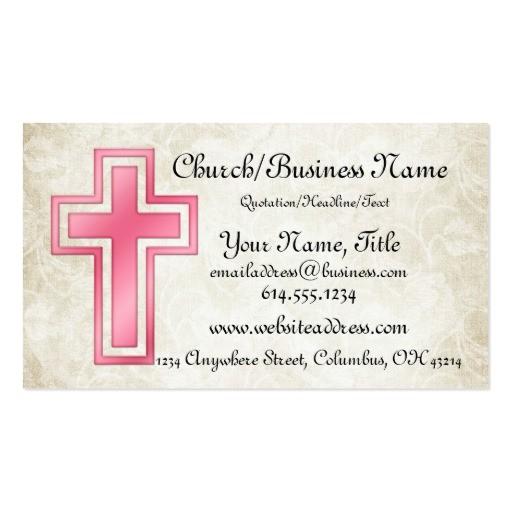 religious businesscards