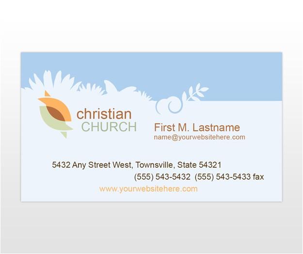 post church card templates 126586