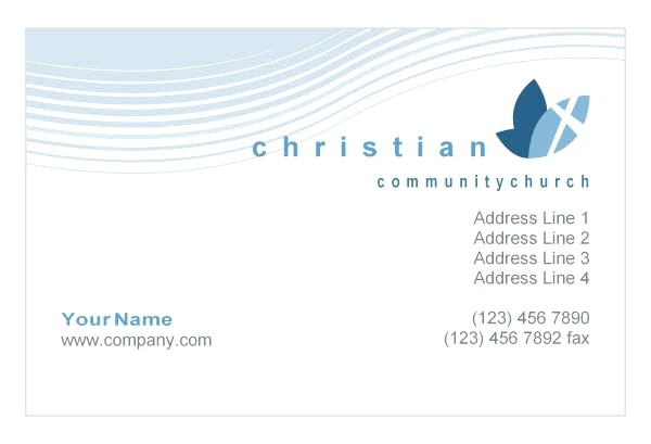 christian business cards templates free