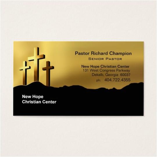 religious business cards