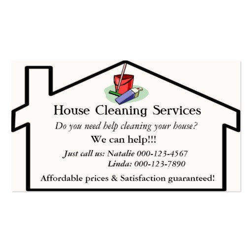 Cleaning Services Business Cards Templates Cleaning Services Business Card Templates Bizcardstudio