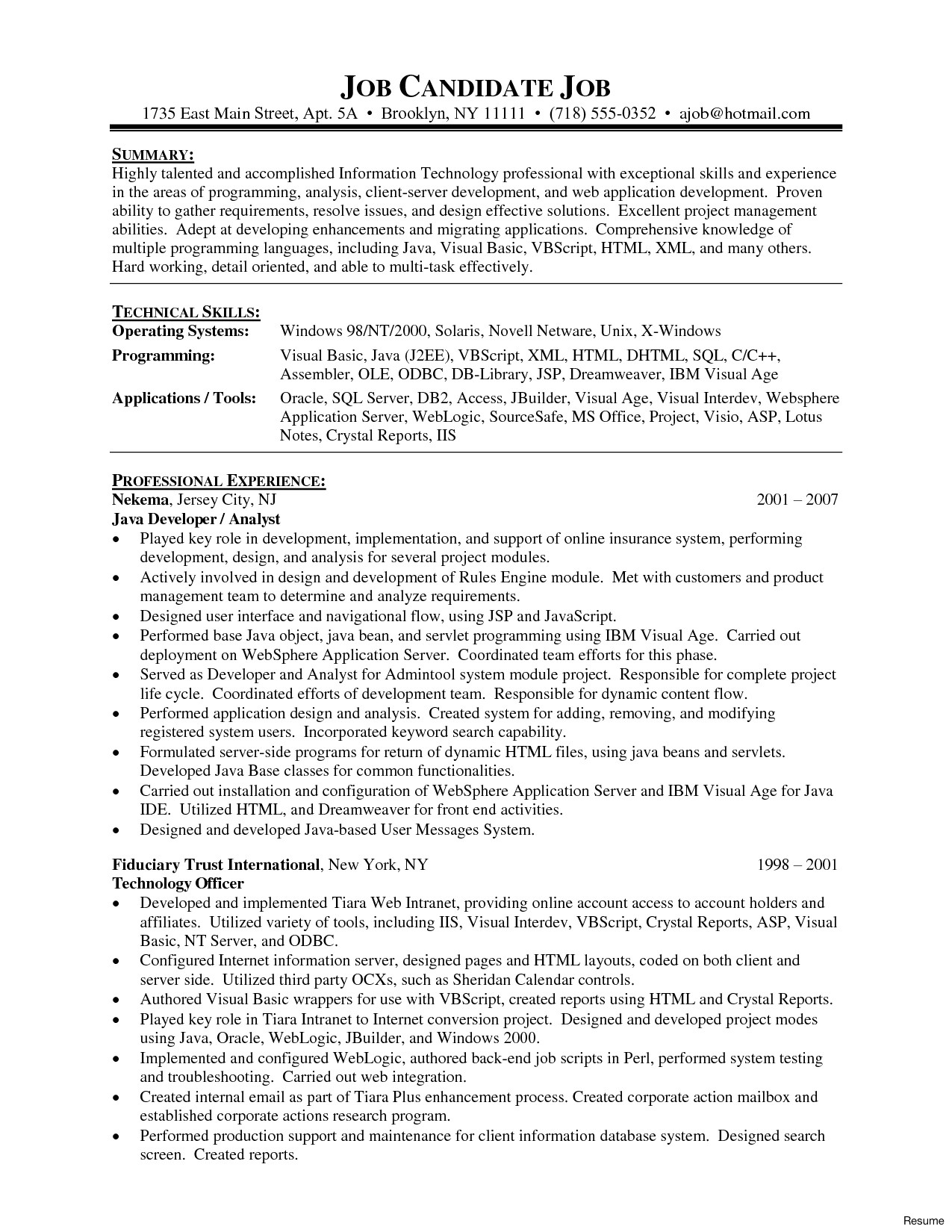 Cnc Programmer Resume Samples Database Developer Sample Resume Sarahepps Com