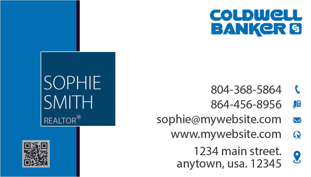 coldwell banker business cards rsd cb 111