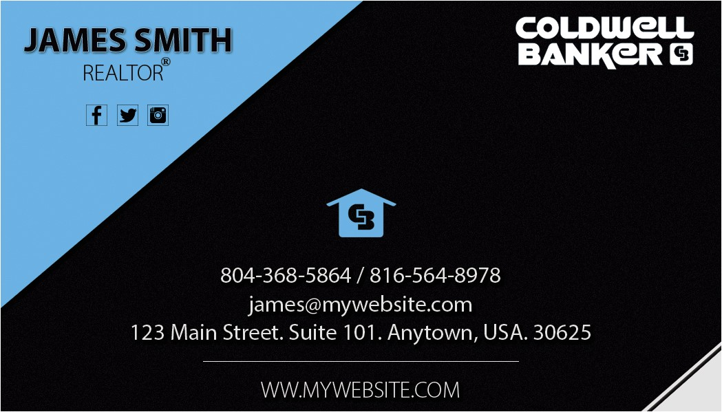 coldwell banker business cards rsd cb 119