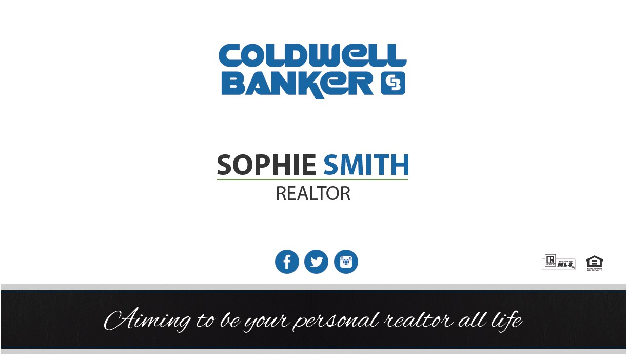 coldwell banker business cards rsd cb 129