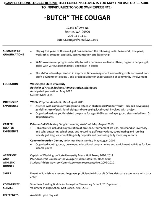 College athlete Resume Sample Student athlete Resume Learnhowtoloseweight Net