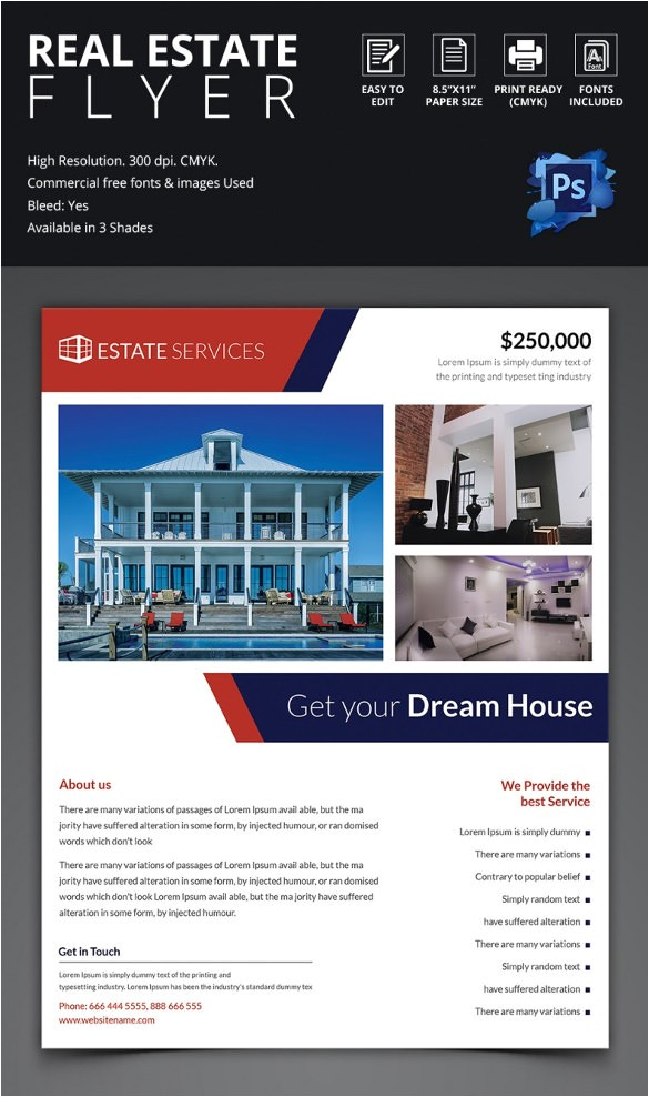 Commercial Real Estate Brochure Template Commercial Real Estate Flyer Template Publisher