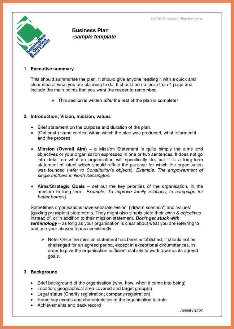 Company Business Plan Template 7 Company Business Plan Template Company Letterhead