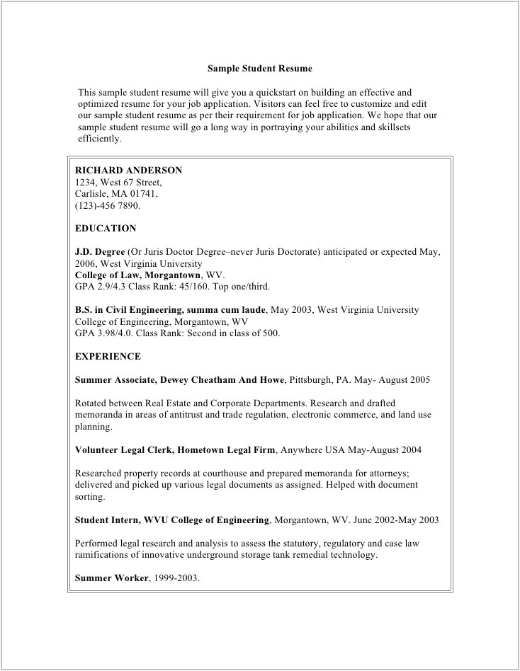 Completely Free Resume Template Download Best Resume Examples