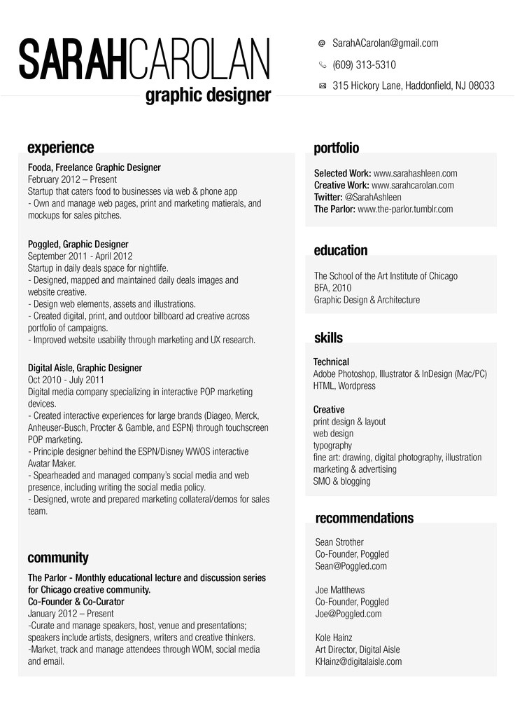 Condensed Resume Template 24 Best Geek 39 D Resumes Images On Pinterest My Resume