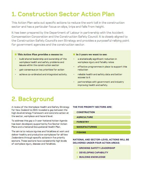 construction business plan template