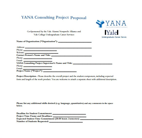 Consulting Proposal Template Doc 15 Consulting Proposal Templates Doc Pdf Excel Free