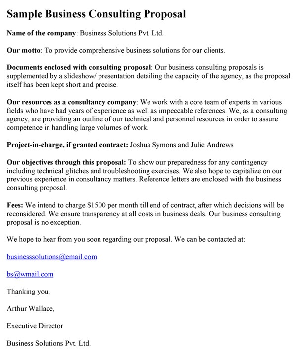 Consulting Proposal Template Doc Consulting Proposal Template Word Excel Pdf formats