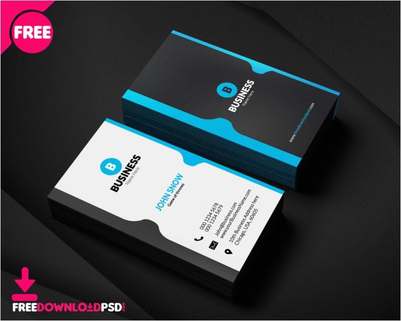 100 free business card psd templates