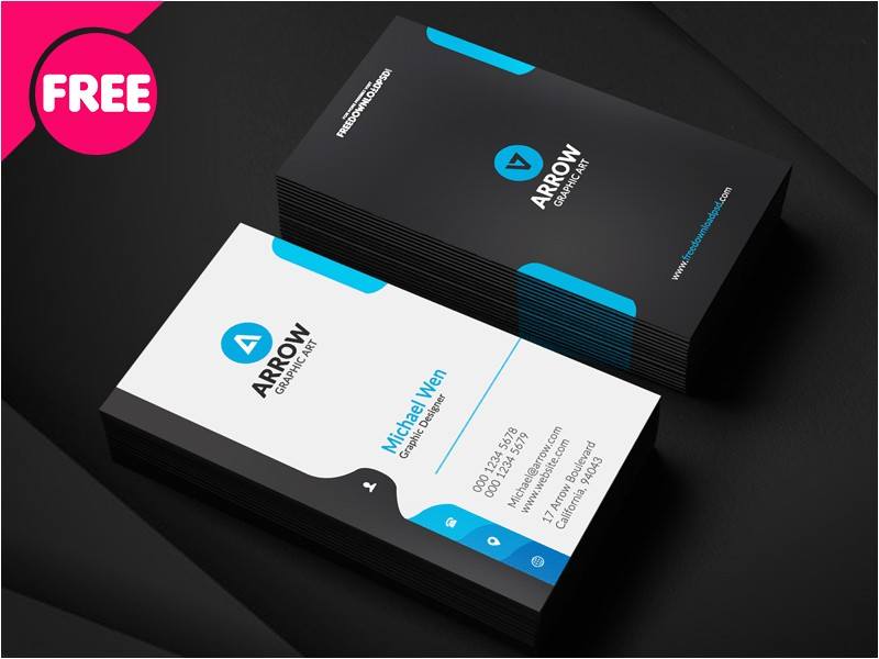 free corporate business card template download 515551
