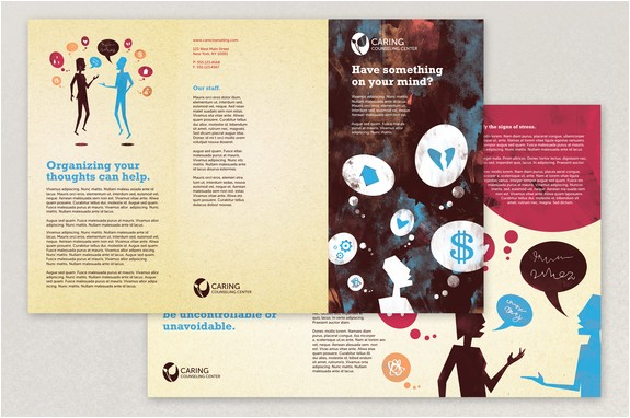counseling brochure template counseling brochure template inkd download