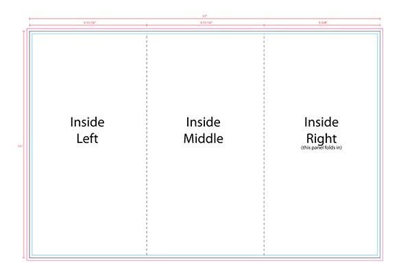 Create Tri Fold Brochure Template Free 10 Printable Trifold Templates Doc Psd Pdf Eps