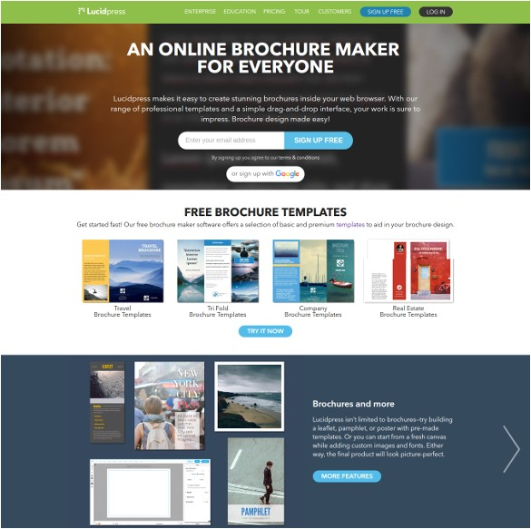 Create Your Own Brochure Templates Free Create Free Brochure Templates 23 Free Brochure Maker