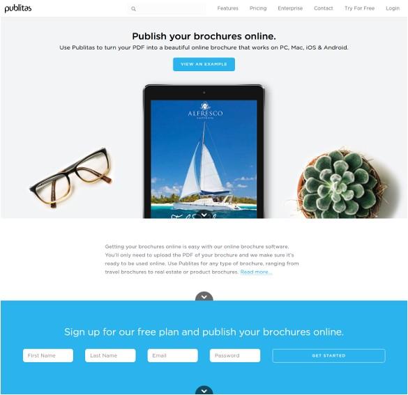 free printable brochure maker