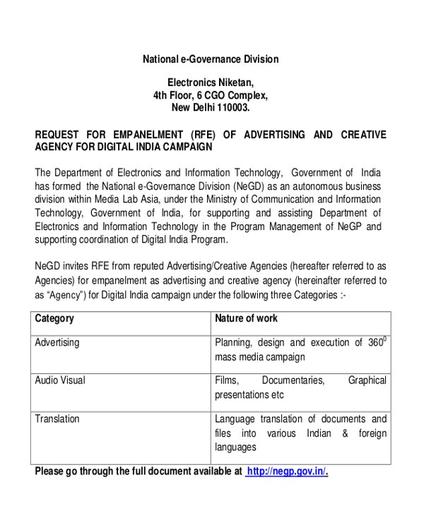 advertising proposal letter