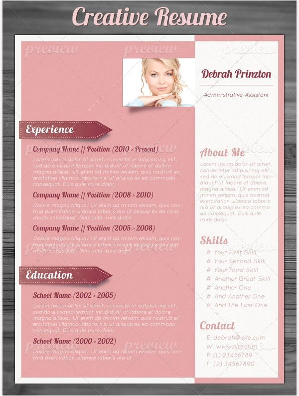 best creative resume templates