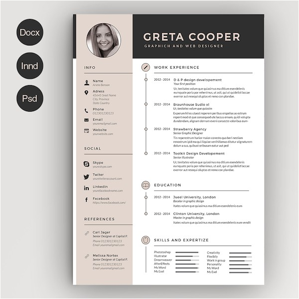 creative r sum templates that you may find hard to believe are microsoft word