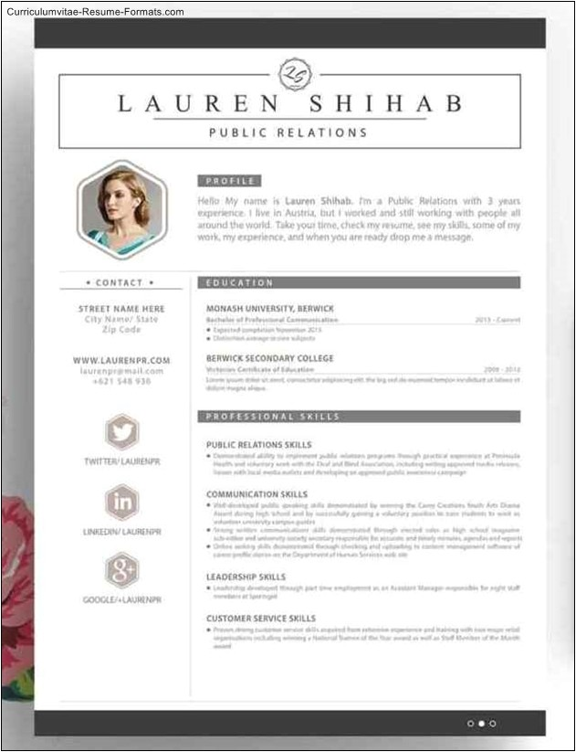 Creative Resume Templates Word Free Creative Resume Template Word Free Samples