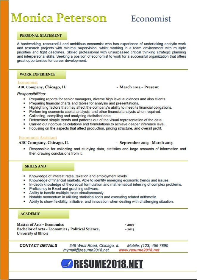 latest resume 2018 format templates