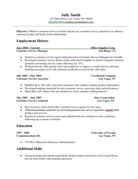 customer service resume examples resume 22
