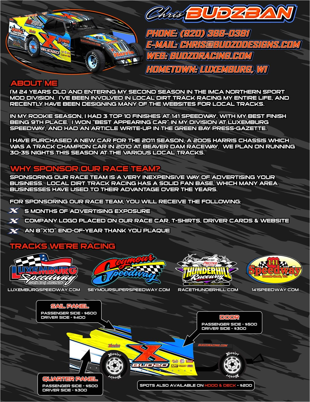 Dirt Track Racing Sponsorship Proposal Template Racing Sponsorship Proposal Google Search Peaches