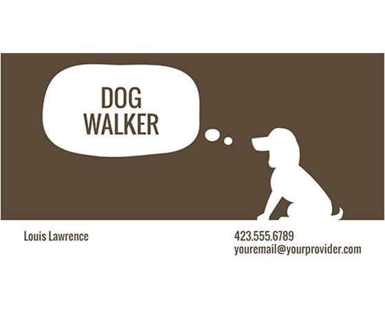 Dog Business Card Templates Free 46 Best Images About Dog Walking On Pinterest Logos