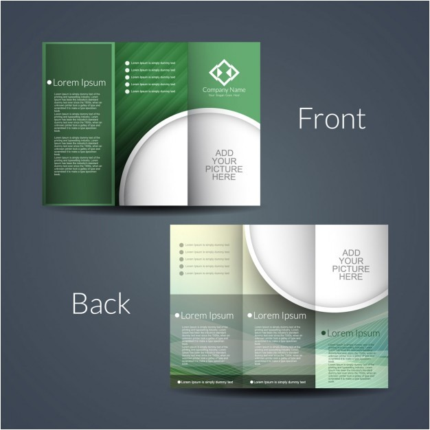 double sided brochure 983189