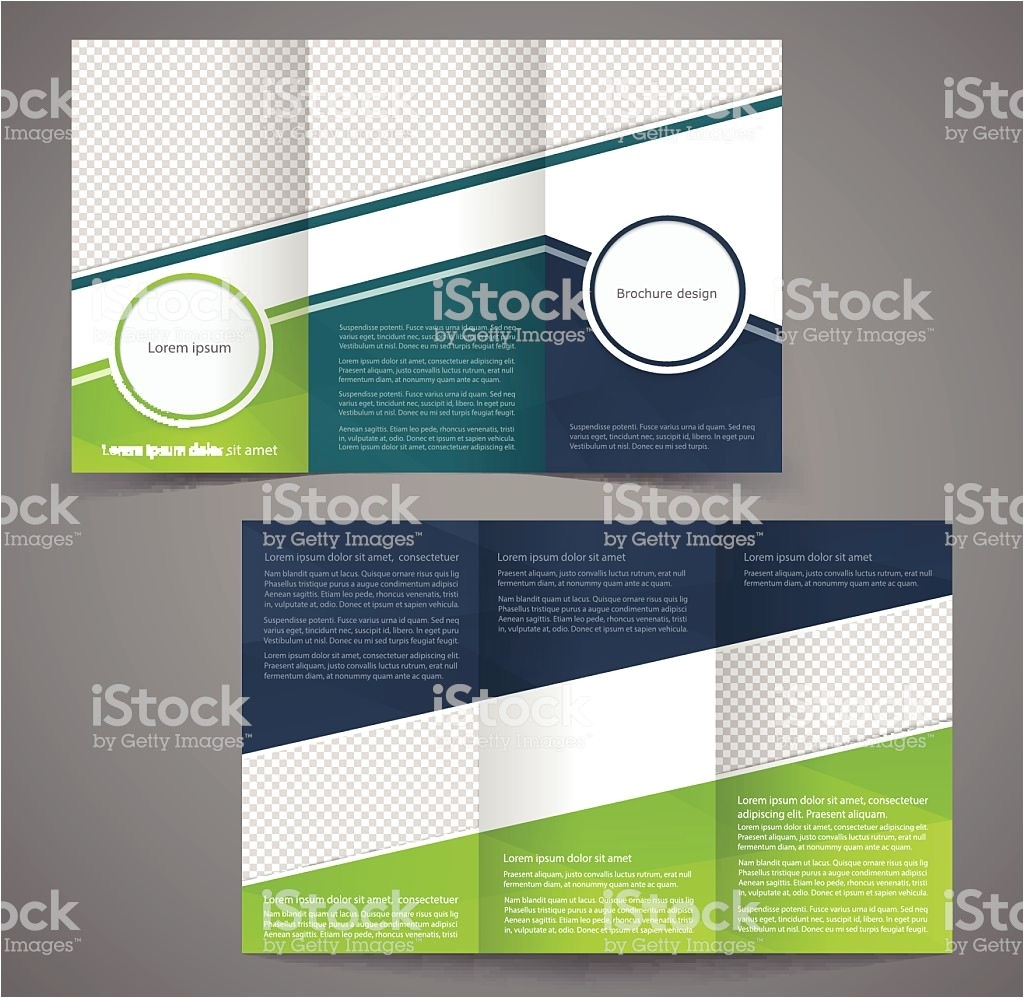 tri fold business brochure template double sided design gm466542300 60013156