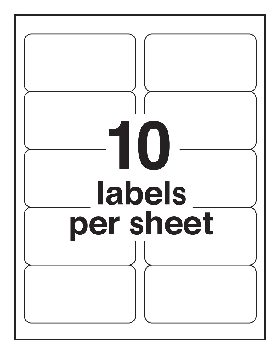 Download Free Avery Label Templates 6 Best Images Of Avery Label Sheet Template Avery Label