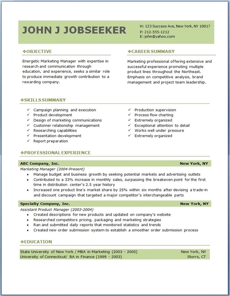 resume genius templates download