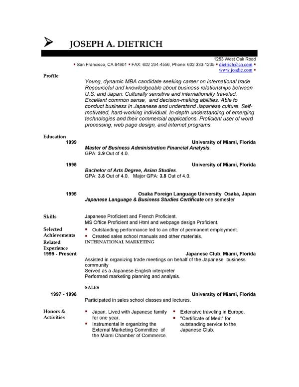 Downloadable Free Resume Templates 85 Free Resume Templates Free Resume Template Downloads