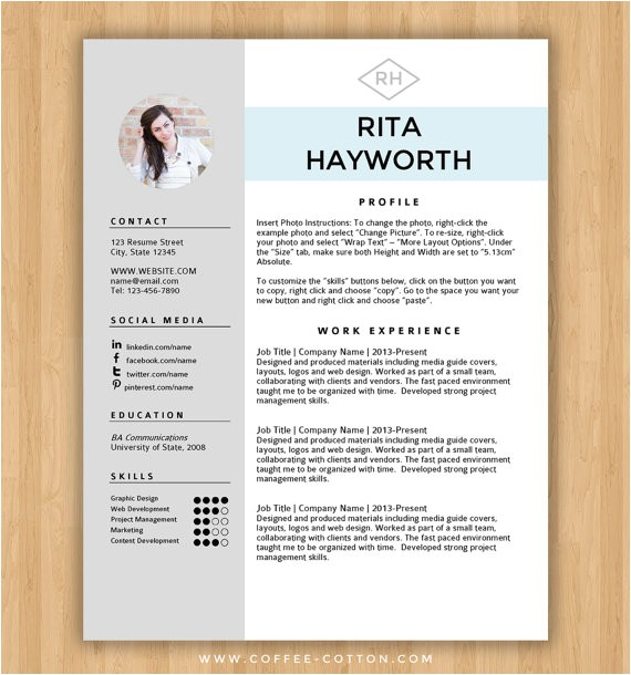 download resume templates word free cv template 303 to 309 cv dot org 12