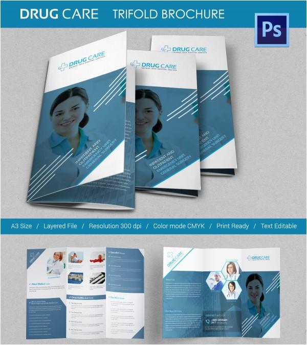 Drug Abuse Brochure Template 11 Drug Brochure Templates Psd Illustrator Files