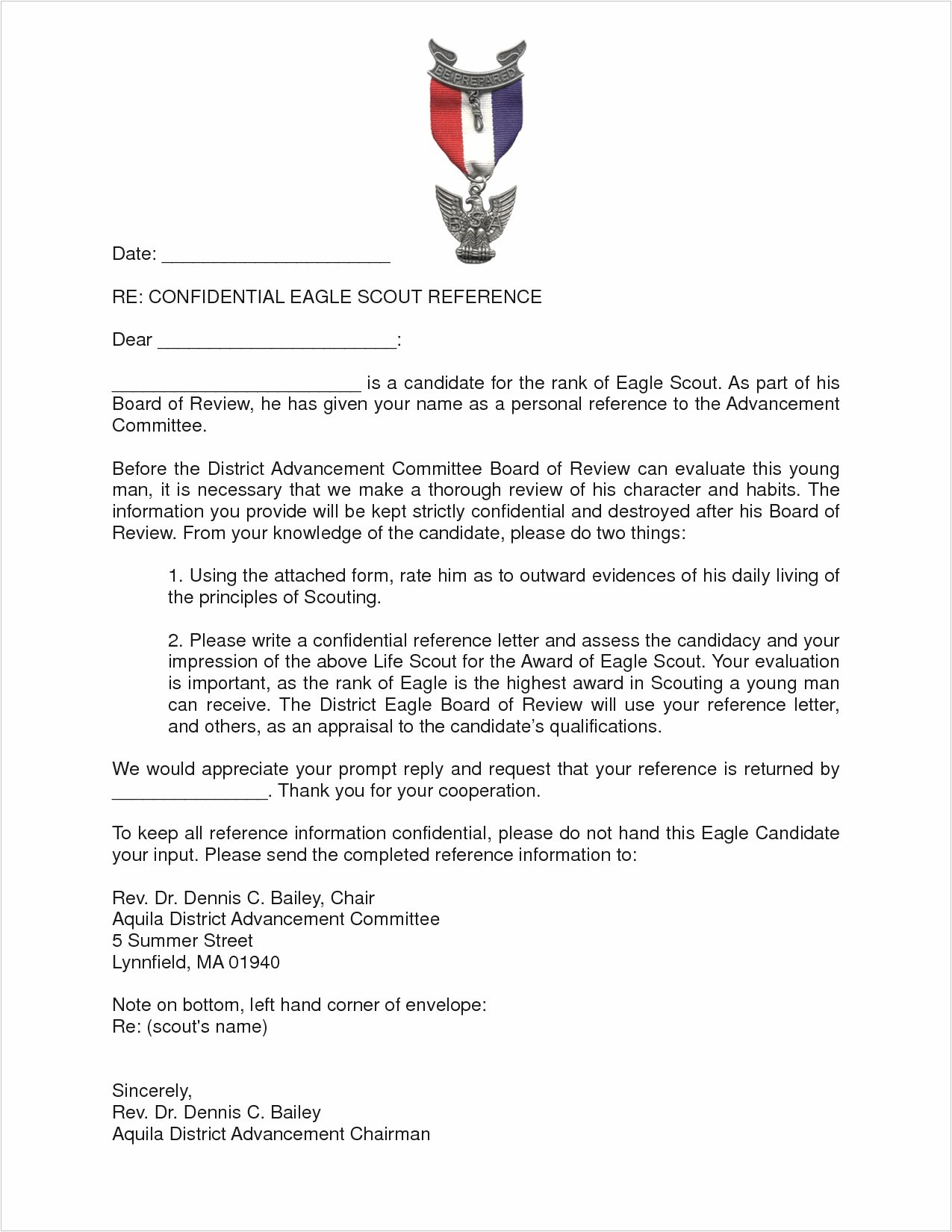 letter of recommendation for eagle scout template best of grant proposal template pdf format